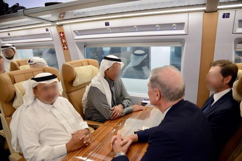 Скоростной поезд Харамейн2